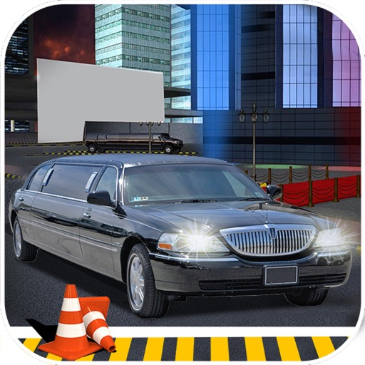 Charismas Limousine Drive : New Free Par-King Game icon