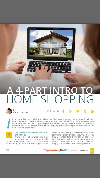 Virginia Beach Real Estate Magazine screenshot-3
