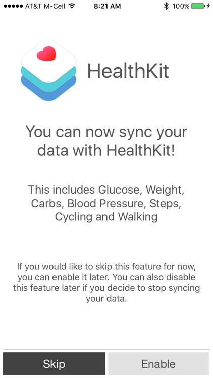Health Stats Log