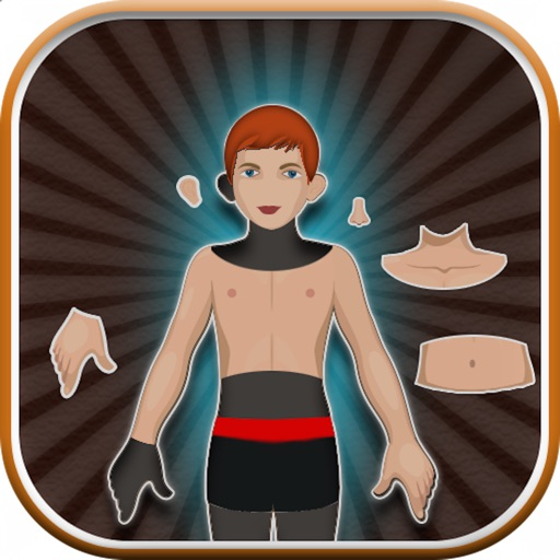 Human Body Part Puzzle For Kids