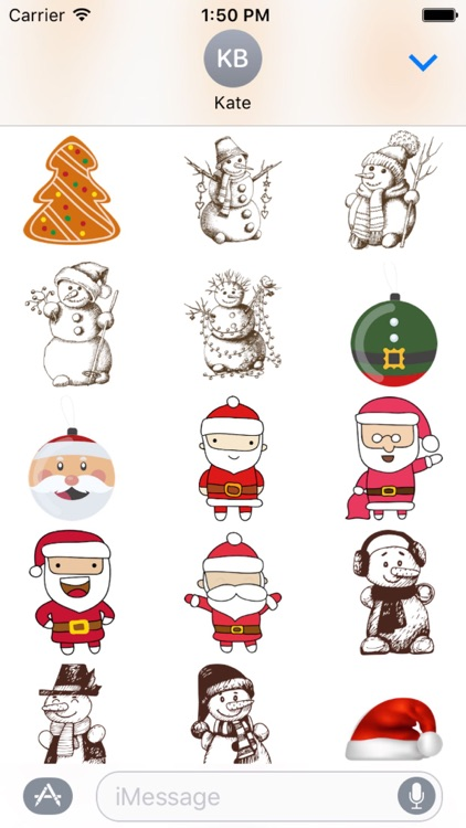 Christmas Sticker Pack - 2017