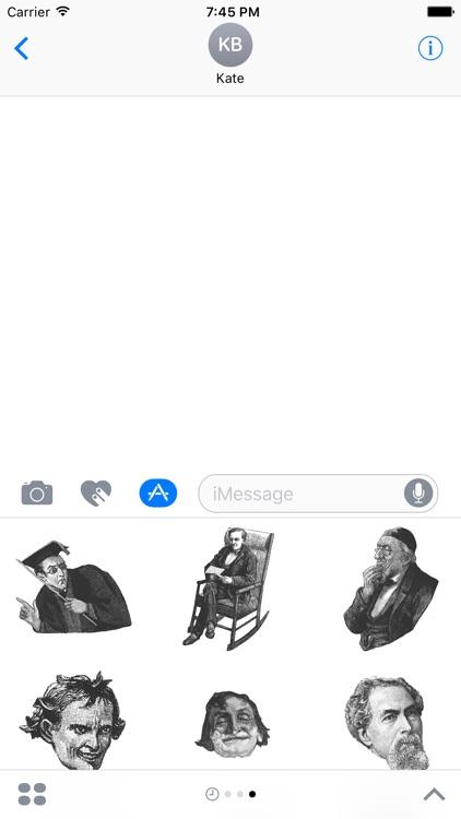 Old Timey Emojis
