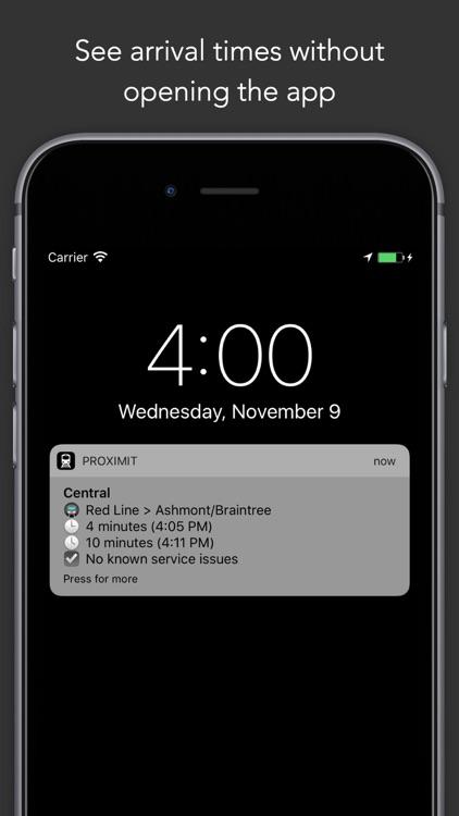 ProximiT: MBTA Bus and Subway screenshot-4