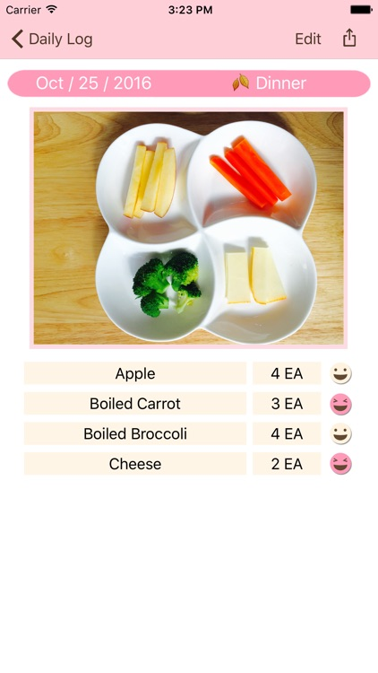 Selfeat BeBe(Baby-led Weaning(BLW) Diary)
