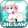 Farm Animals Jigsaw Puzzles Free For Babies & Kids