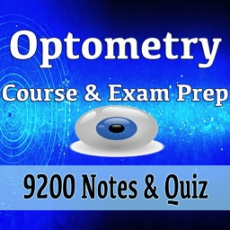 Optometry Course & Exam Prep 9200 Flashcards Quiz
