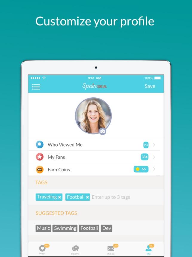 spain dating app