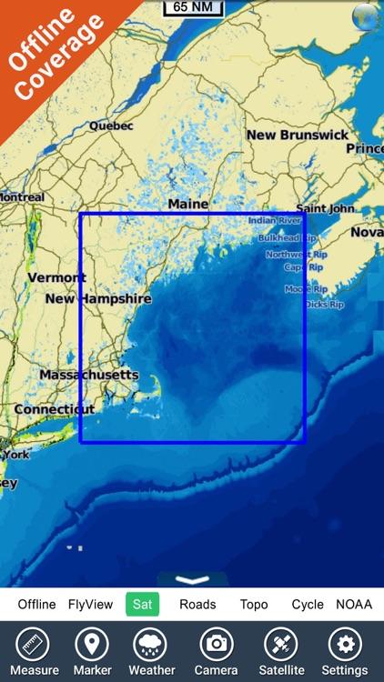 Rhode Island to Maine HD chart screenshot-4