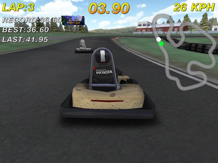 Go Karting Outdoor HD Free screenshot-3