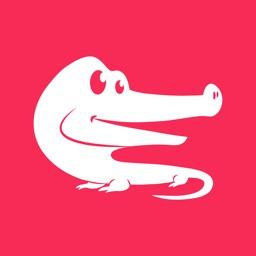 Later Gator: Animal Greetings