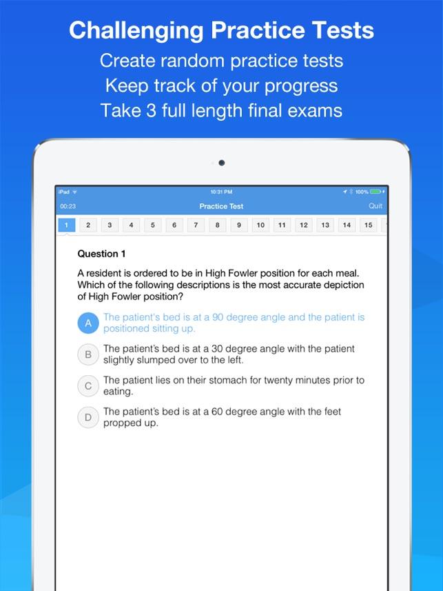 Cna Smart Exam Prep Practice Test Study On The App Store
