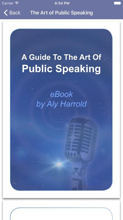 Public Speaking Confidence by Glenn Harrold screenshot-4