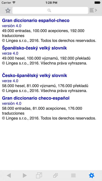 Lingea Španělsko-český velký slovník