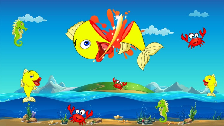 Fish Ninja - Be Ninja & cut flappy fish free Games