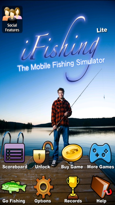 i Fishing Lite screenshot one