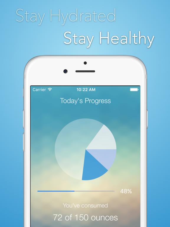 iHydrate -Daily Water Tracker & Hydration Reminder Screenshots