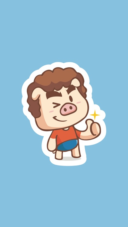 Piggy Stickers
