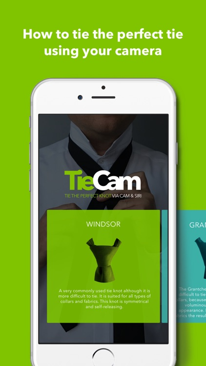 TieCam - how to tie the perfect tie knot