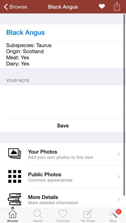 1500 Cattle Dictionary Breeds screenshot-3