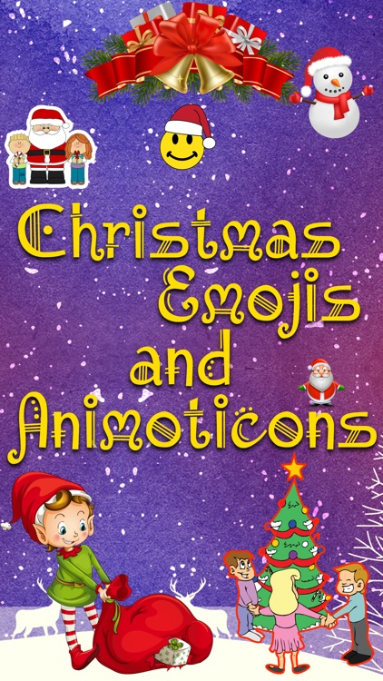 Holiday 3D Emojis - Christmas Holiday Emoji
