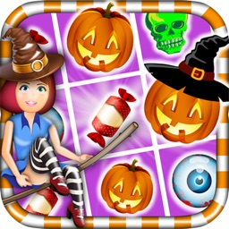 Candy Witch Puzzle Halloween