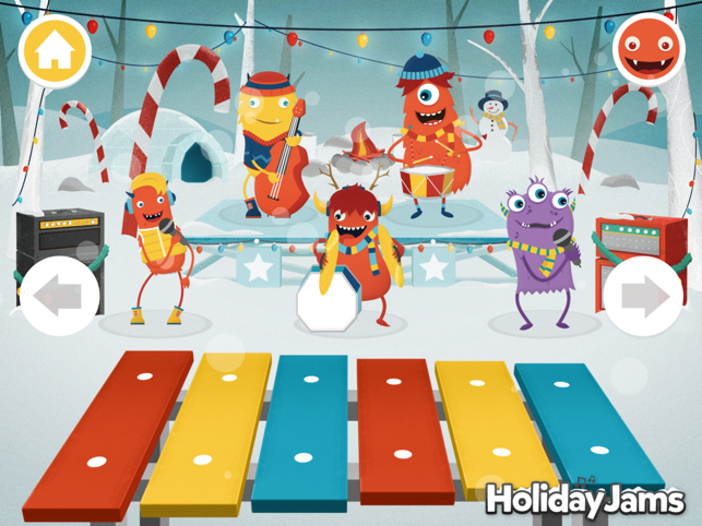 ‎Holiday Jams Screenshot