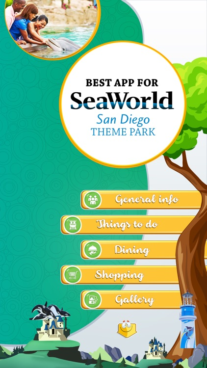 Best App for SeaWorld San Diego Theme Park