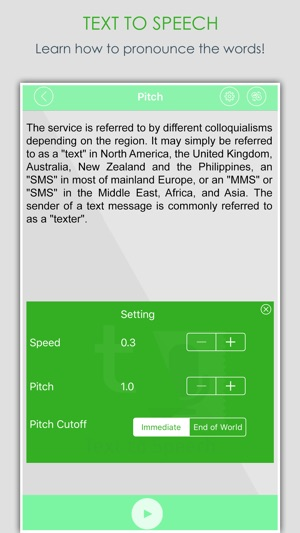 Voicetext Syncing Audiobook Narration With Text Onscreen: Text To Voice-Talk On The App Store