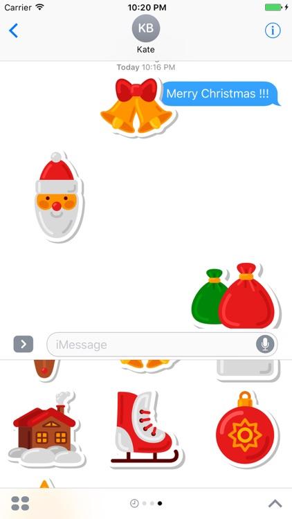 Christmas Stickers Pack 1 - Weihnachten - Noël screenshot-3