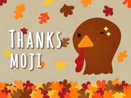 Thanksmoji - Animated Thanksgiving Stickers