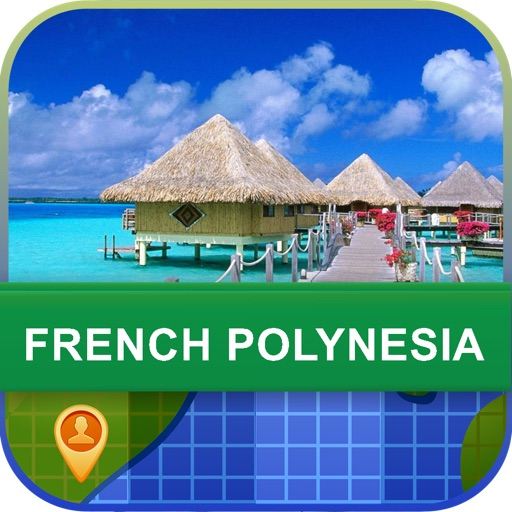 Offline French Polynesia Map - World Offline Maps