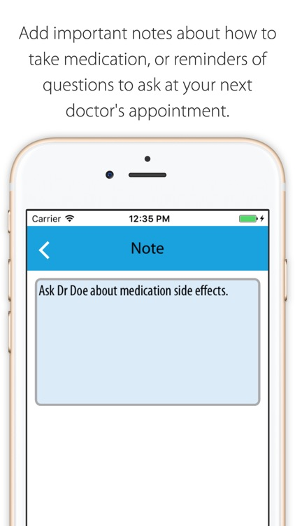 MedOClock - Free Pill Reminder with Health Journal screenshot-4