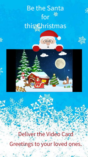 Christmas greetings video card on the app store m4hsunfo Images