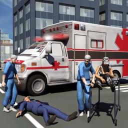 Ambulance Driver 3d Simulator Games