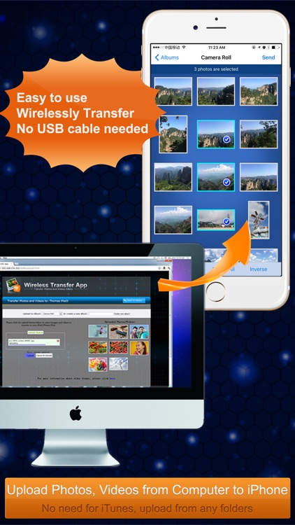 Wireless Transfer App:Sync backup photo and video screenshot-4