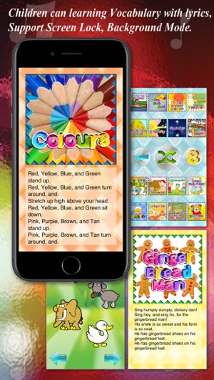 Kids Song -Over 160 English Kids Song With Lyrics on the App Store 7c4ea82b500