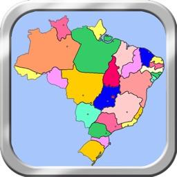 Brazil Puzzle Map