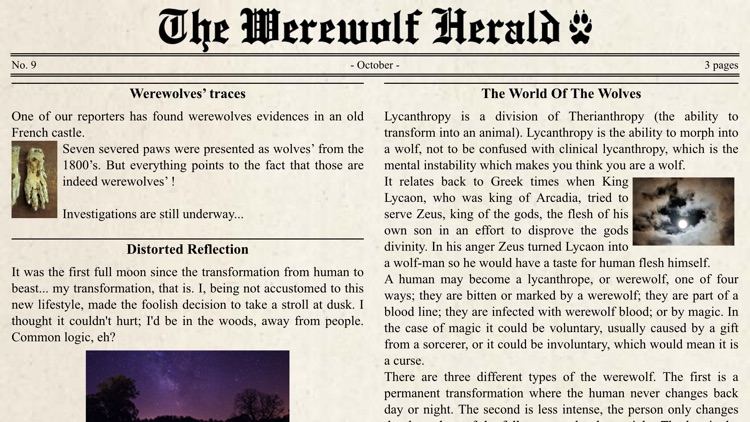 Werewolf Locator screenshot-3