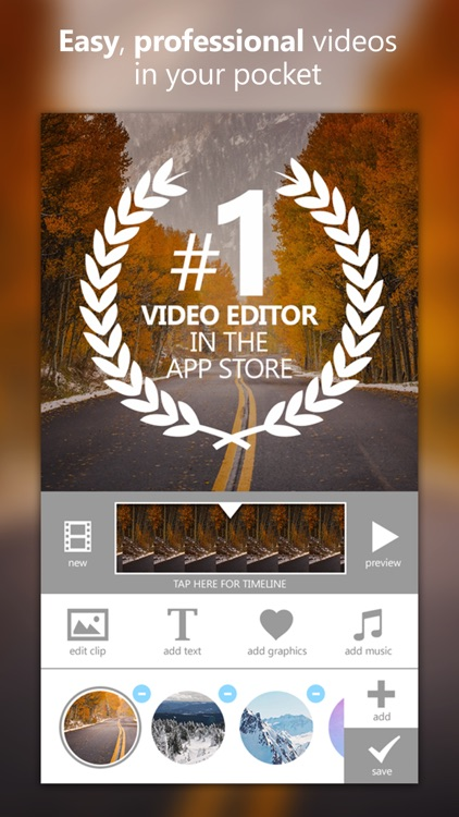 Videograph Pro: Edit Videos, Trim Crop & Cut Clips