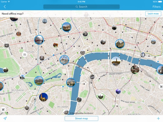 London Map Guide.London Offline Map City Guide App Price Drops