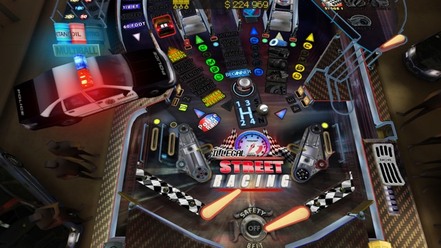 Pinball HD for iPhone Screenshot