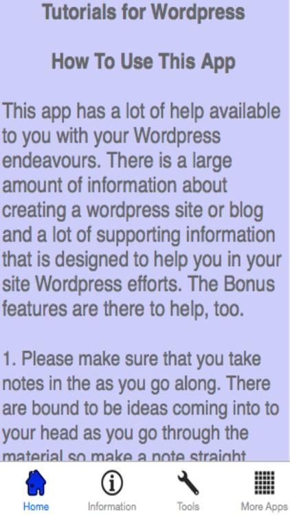 Tutorial Videos For WordPress screenshot-3