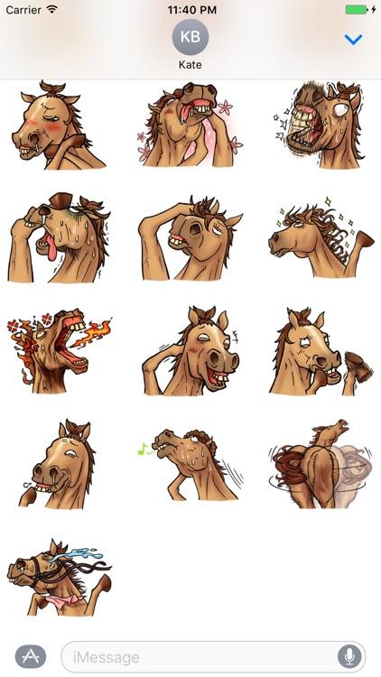 Crazy Horse Stickers