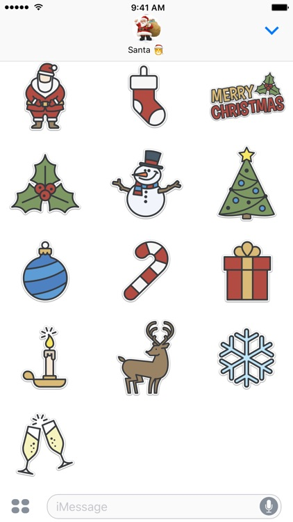 Xmas Stickers - Christmas screenshot-3