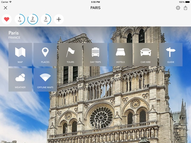 paris offline map city guide on the app store