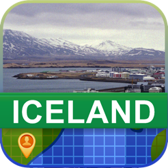 online interactive maps, advertising maps, print maps, service maps, facebook maps, on offline maps iceland