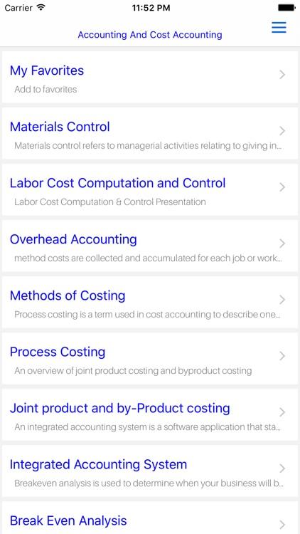 MBA Accounting & Cost Accounting screenshot-4
