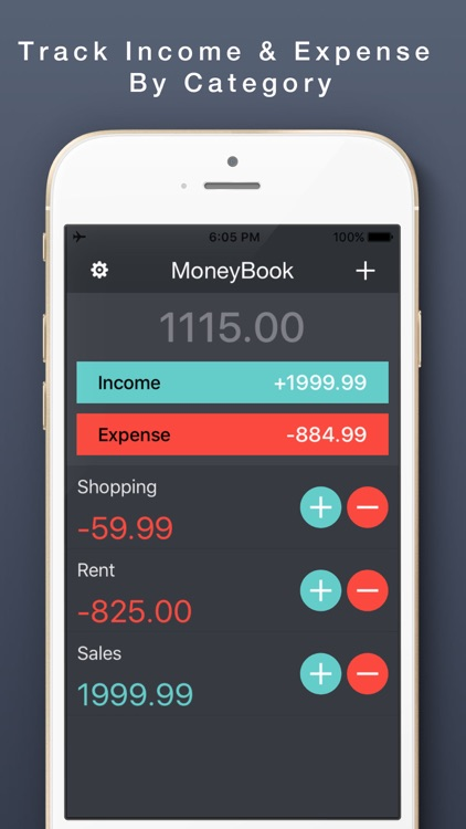 My Money Book Next-Money Monitor, Spending Tracker
