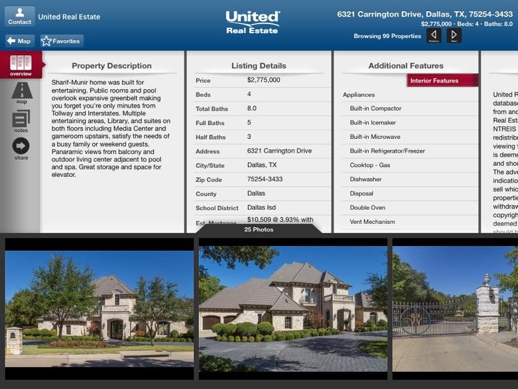 United Real Estate for iPad screenshot-3