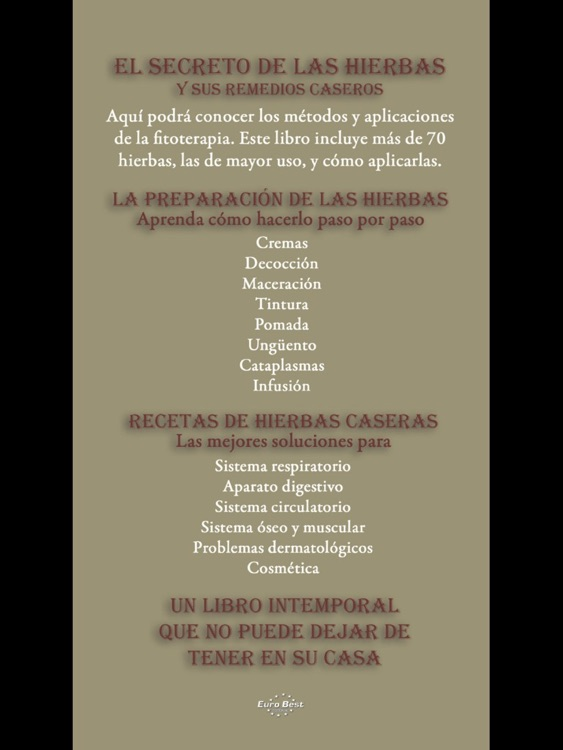 El Secreto de las Hierbas y sus Remedios Caseros screenshot-4